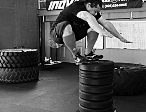Box Jumps look cool – – that's all